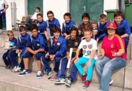 Junioren Da besichtigen Training von Spanien